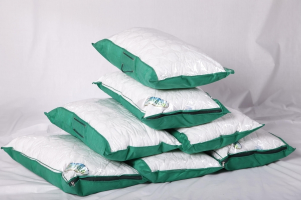 Quilted pillow (percale, altball) - 3