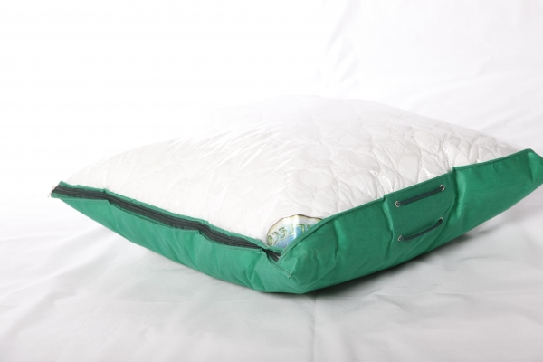 Quilted pillow (percale, altball) - 5